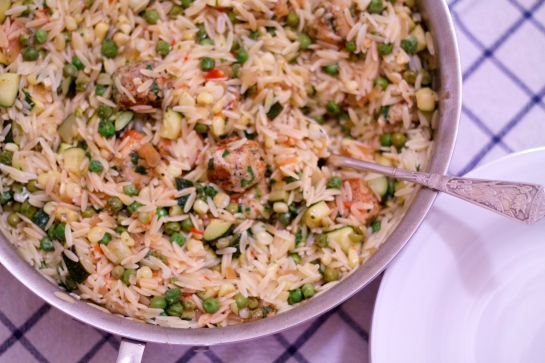 Orzo and Meatballs | Kitchen Notes