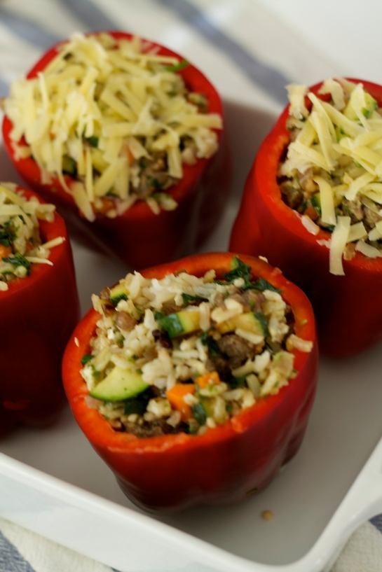 stuffed peppers | kitchen notes and other sundries